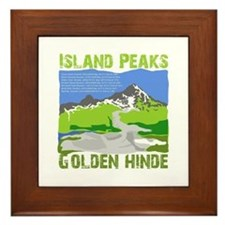 Vancouver Island Alpine Framed Tile