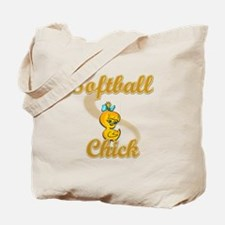 Softball Chick #2 Tote Bag