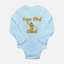 Sous Chef Chick #2 Long Sleeve Infant Bodysuit
