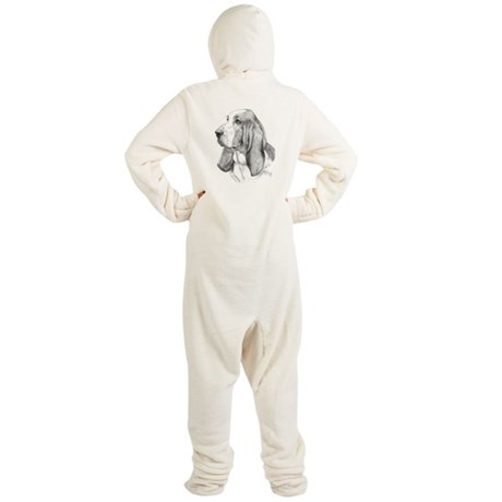 Basset Hound Footed Pajamas