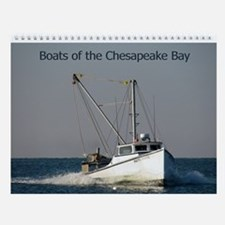 Boats Of The Chesapeake Bay Wall Calendar
