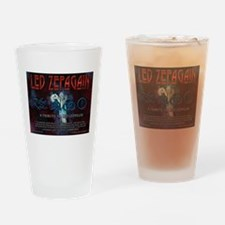 Led Zepagain Drinking Glass