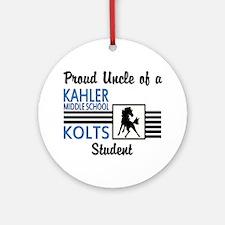 Kahler Uncle Ornament (Round)
