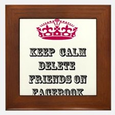 Keep calm delete facebook friends on facebook Fram