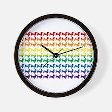 Original Patriotic Wiener Wall Clock