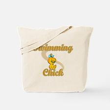Swimming Chick #2 Tote Bag