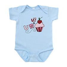 U R My Cupcake Infant Bodysuit