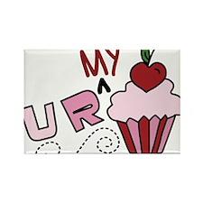 U R My Cupcake Rectangle Magnet