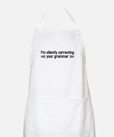 Silently Correcting Your Grammar Apron