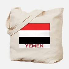 Yemen Flag Merchandise Tote Bag