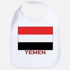 Yemen Flag Merchandise Bib