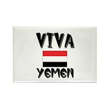 Viva Yemen Rectangle Magnet