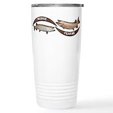 Muskie Fear Me Travel Mug
