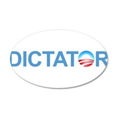 Dictator 35x21 Oval Wall Decal