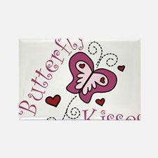 Butterfly Kisses Rectangle Magnet
