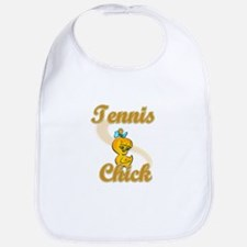 Tennis Chick #2 Bib