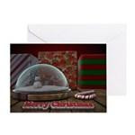 Christmas Snow Globe Card