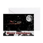 Christmas Cow Card (Pk of 10)