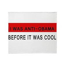 Anti-Obama Throw Blanket