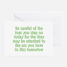Funny Toes Greeting Card