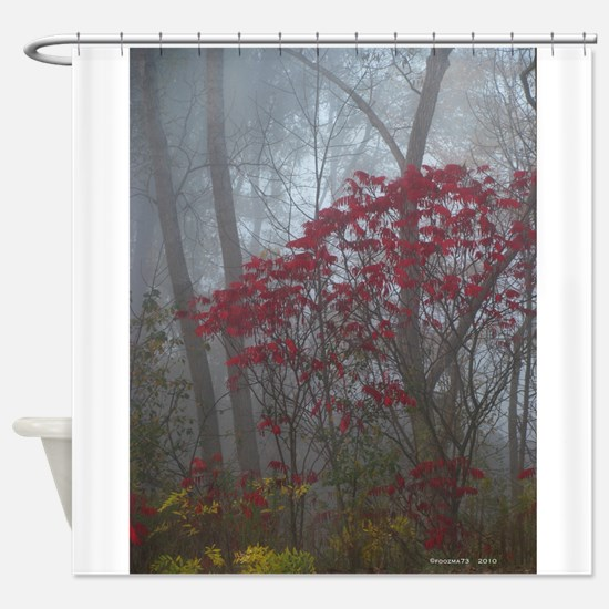 .foggy sumac. I Shower Curtain
