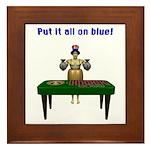 Bailout Bill Framed Tile