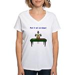 Bailout Bill Women's V-Neck T-Shirt