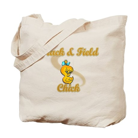 Track & Field Chick #2 Tote Bag
