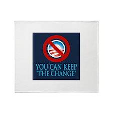 Keep the Change Throw Blanket