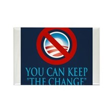 Keep the Change Rectangle Magnet (100 pack)