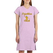 Triathlon Chick #2 Women's Nightshirt