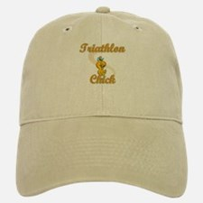 Triathlon Chick #2 Baseball Baseball Cap