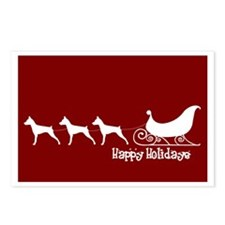 """MinPin """"Sleigh"""" Postcards (Package of 8)"""