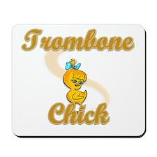 Trombone Chick #2 Mousepad