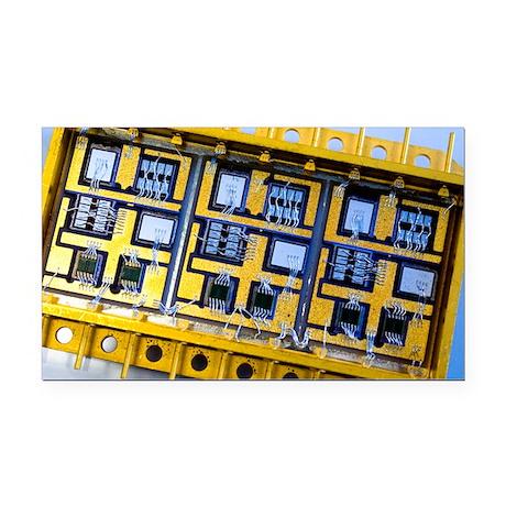 Electronics for satellite subsystem - Car Magnet