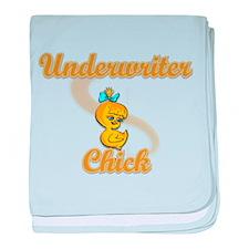 Underwriter Chick #2 baby blanket
