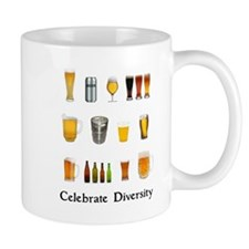 Celebrate Diversity Beer Mug