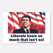 Liberals Know So Much That Is Not So ! Postcards (