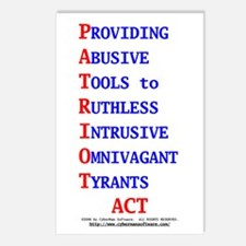 Patriot Act Postcards (Package of 8)