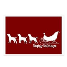"""Lab """"Sleigh"""" Postcards (Package of 8)"""