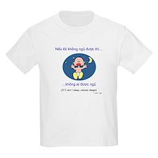 If I Don't Sleep... (Vietnamese) Kids T-Shirt