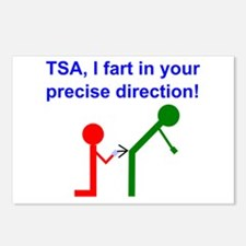 Fart on TSA Postcards (Package of 8)
