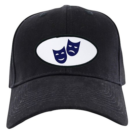 Theater masks Black Cap