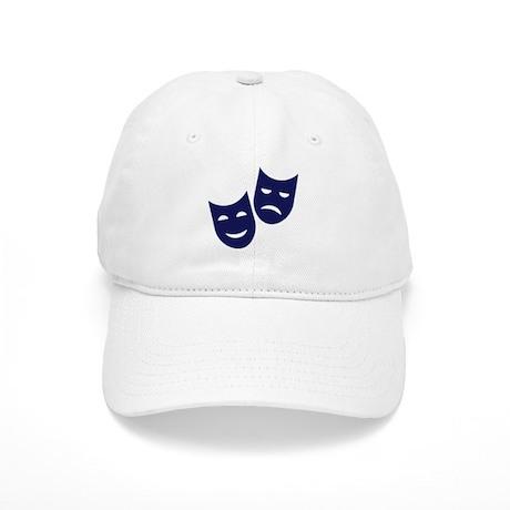 Theater masks Cap