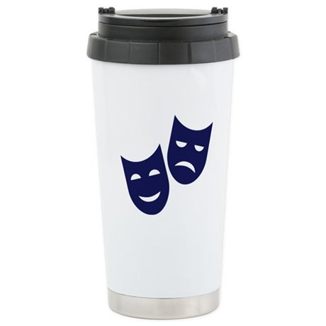 Theater masks Stainless Steel Travel Mug