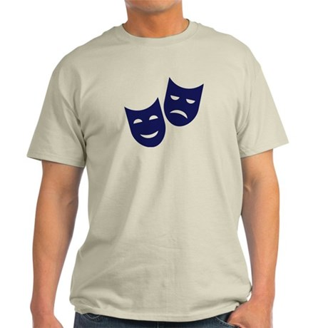 Theater masks Light T-Shirt