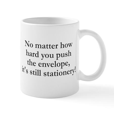 No matter how hard you push Mug