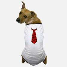 Tie red hearts Dog T-Shirt