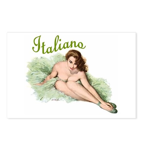 Italiano Postcards (Package of 8)