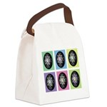Pop Art Pysanka Canvas Lunch Bag